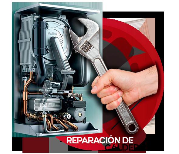 reparación de calderas de gas natural