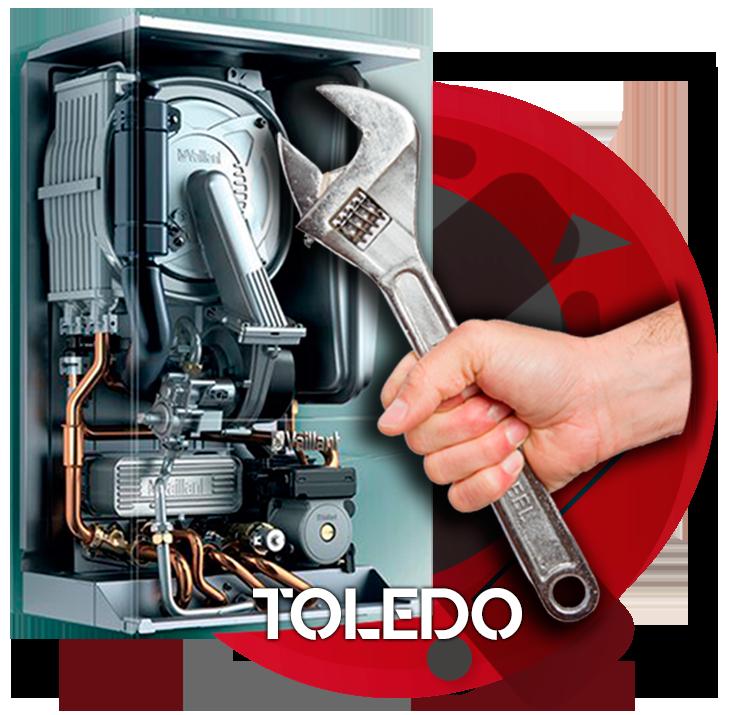 reparación de calderas en Toledo