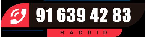 teléfono servicio técnico reparación fugas de gas natural en Madrid