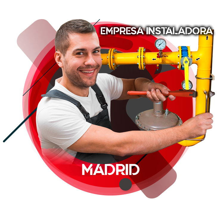 Empresa instaladora de gas natural en Madrid