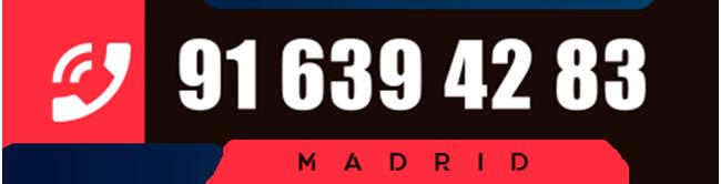 teléfono servicio técnico urgente de inspección obligatoria de instalaciones de gas natural en Madrid