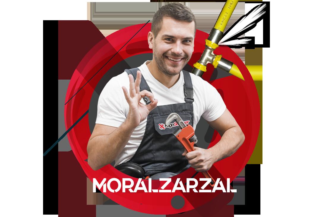 reparación fugas de gas natural en Moralzarzal