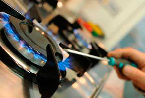 reparación de fugas en cocinas de gas en Moralzarzal