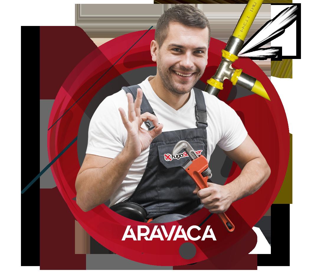 reparación fugas de gas natural en Aravaca