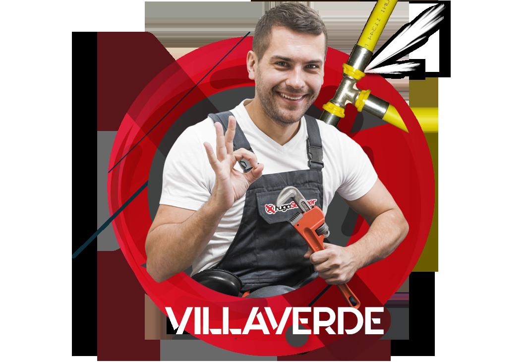 reparación fugas de gas natural en Villaverde