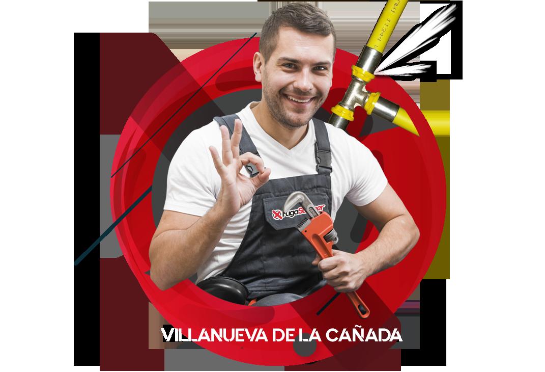 reparación fugas de gas natural en Villanueva de la Cañada