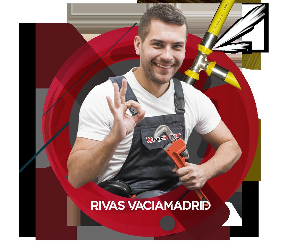 Reparación fugas de Gas Natural en Rivas Vaciamadrid